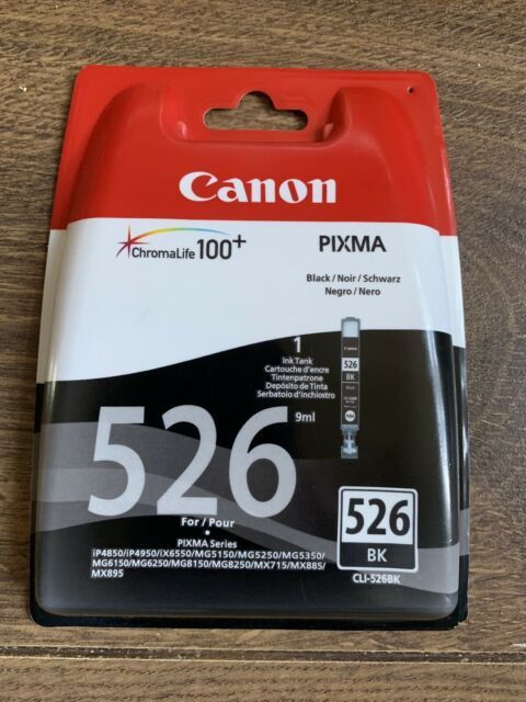 CANON CLI-526 Black Ink Cartridge . New (sealed)