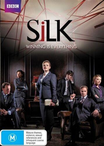 1 of 1 - SILK - SERIES / SEASON 1..MAXINE PEAKE..BBC...REG 4...NEW & SEALED  dvd342
