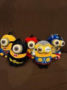 5-Pcs-Despicable-Me-7-034-Minions-Superhero-Avengers-plush