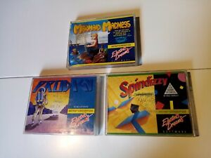 Lot de 3 jeux AMSTRAD CPC 464/664/6128 - Spindizzi / Prodigy / Mermaid Madness