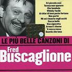 CD FRED BUSCAGLIONE PIU' BELLE CANZONI PIU NUOVO ORIGINALE SIGILLATO NEW SEALED