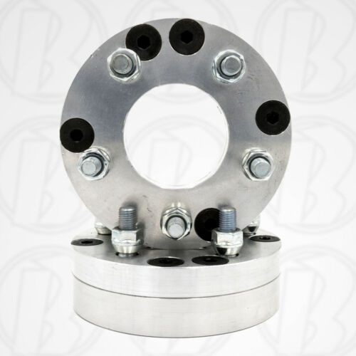 "2pc USAATV 4 Lug to 5 lug Wheel Adapters 1.75/"" Spacers4x110 to 5x120"
