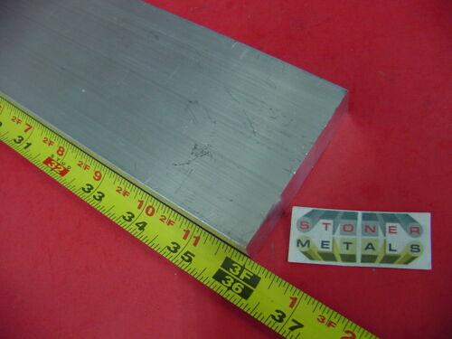 "3//4/"" X 3/"" ALUMINUM 6061 FLAT BAR 36/"" long T6511 .750/"" Solid Plate Mill Stock"