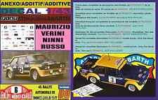 ANEXO DECAL 1/43 FIAT 131 ABARTH MAURIZIO VERINI R.MONTECARLO 1977 (01)