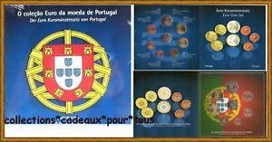 PORTUGAL Coffret BU 2002 - 8 Monnaies -  Coffret bleu coleçao de moeda