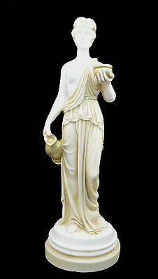 Kore alabaster Ancient Greek sculpture Kore statue patina aged artifact