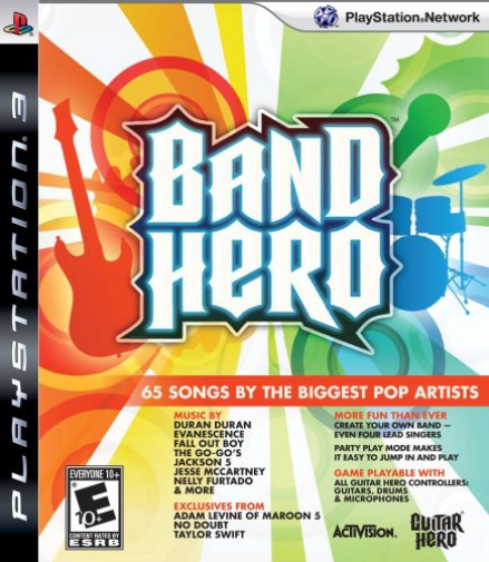 Band Hero (Game Only) Ps3 GAME NEUF