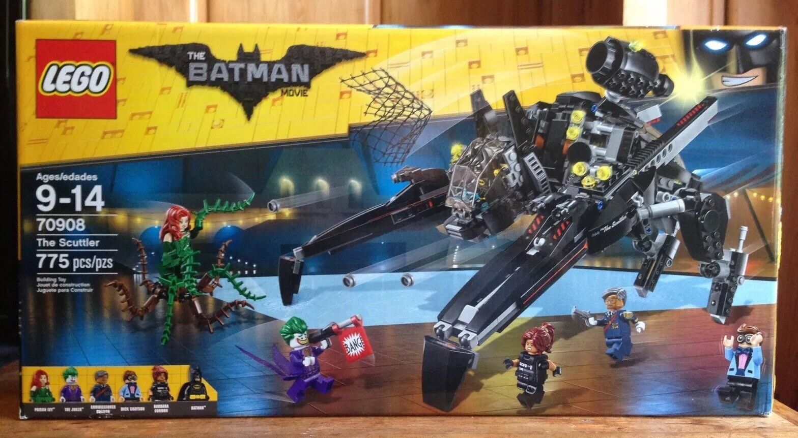 Nqagmy3138 100Complet Scuttler The Lego Pieces 70908 775 Batman XPNOk08nw