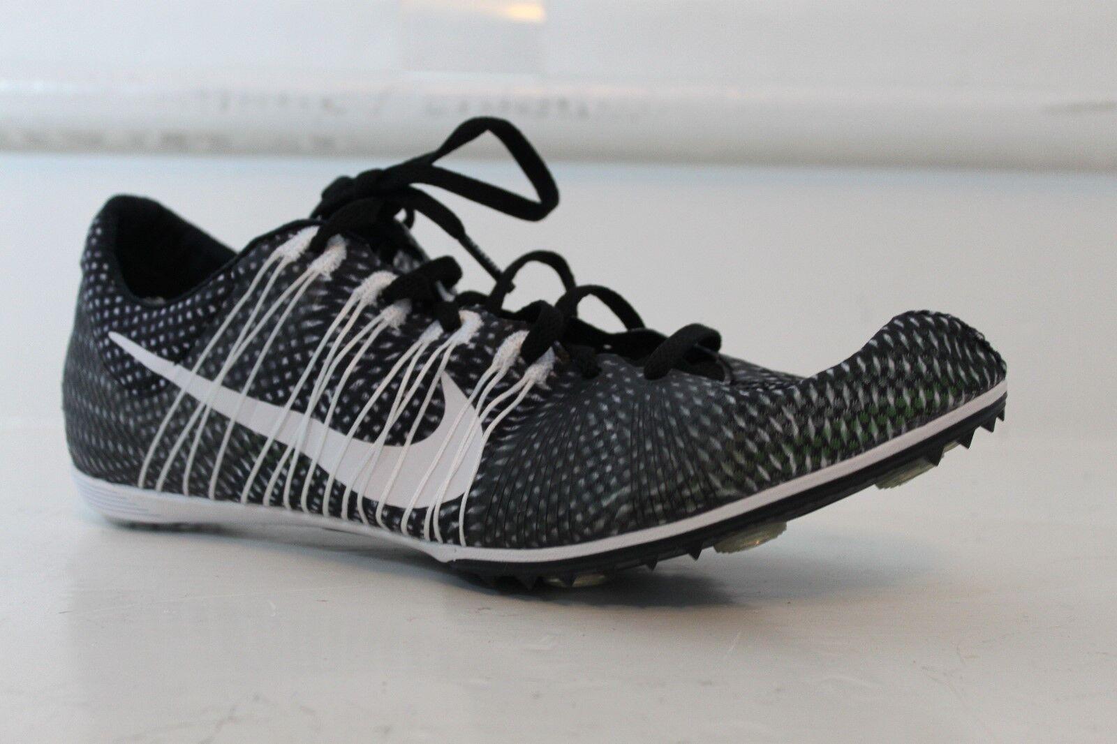 Nike Zoom Victory 2 unisex pista Spikes Flywire de nueva media distancia negro MSRP nueva de f7e667