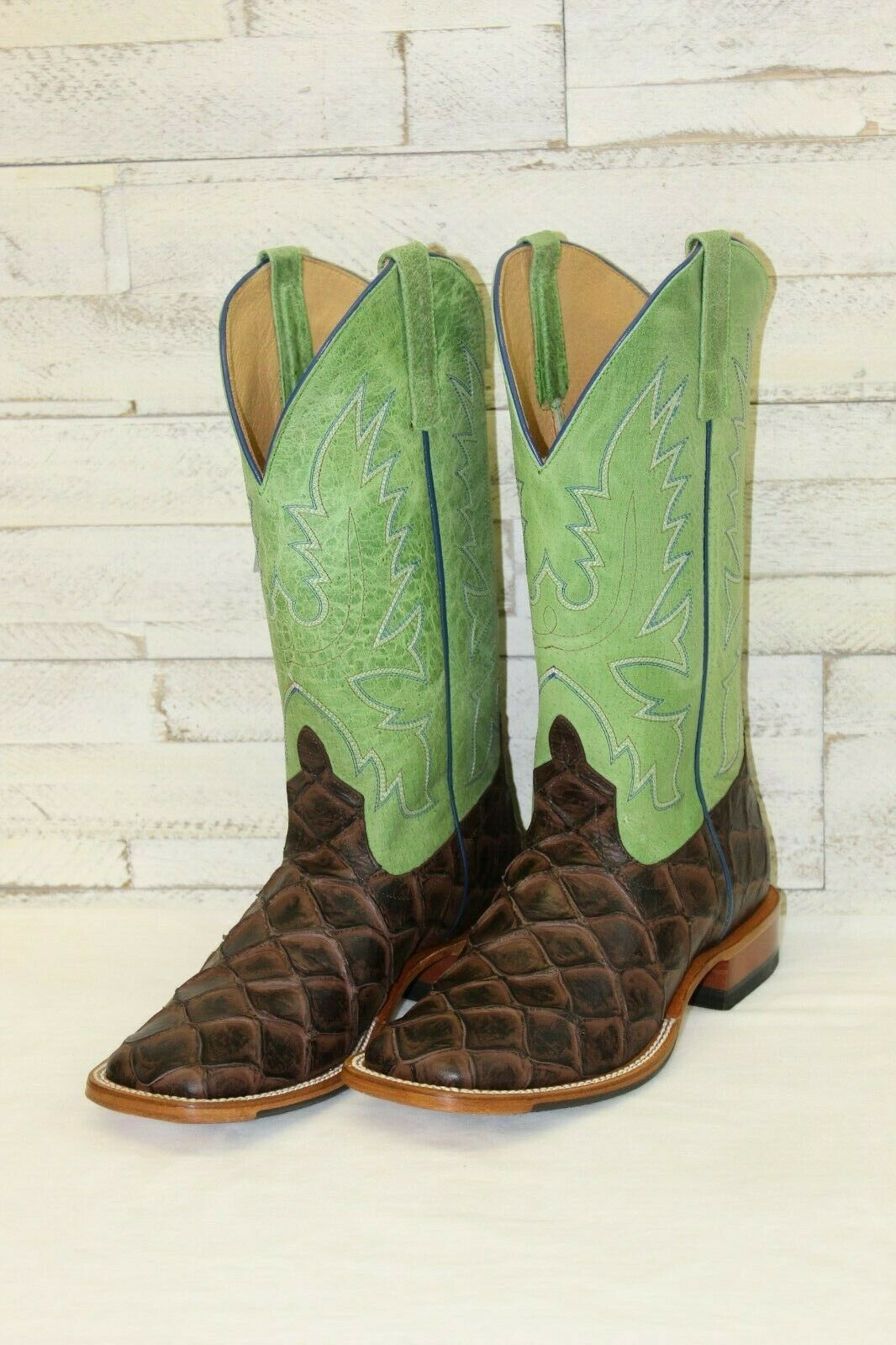 HP by Anderson Bean bottes-Chocolate Filet fo Fish w vert Tops, Style HP1824