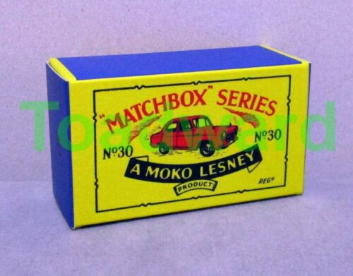 "B-Box MATCHBOX REGULAR WHEELS /""FORD PREFECT/"" 30 A NEUF"