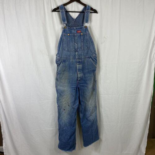 Vintage 1960s Dickies Denim Overalls Workwear