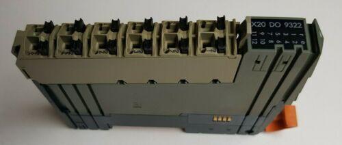 B/&R X20 DO 9322 Digitales Ausgangsmodul 12 Ausgänge 24V 0,5A 1-Leitertechnik