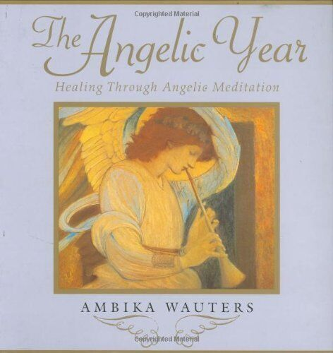1 of 1 - The Angelic Year: Healing Through Angelic Meditation,Ambika Wauters