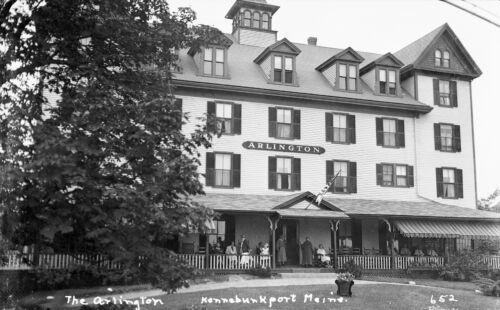 1930 S Arlington Hotel Kennebunkport Maine Grand Hotel 7 X 11 Photo 652