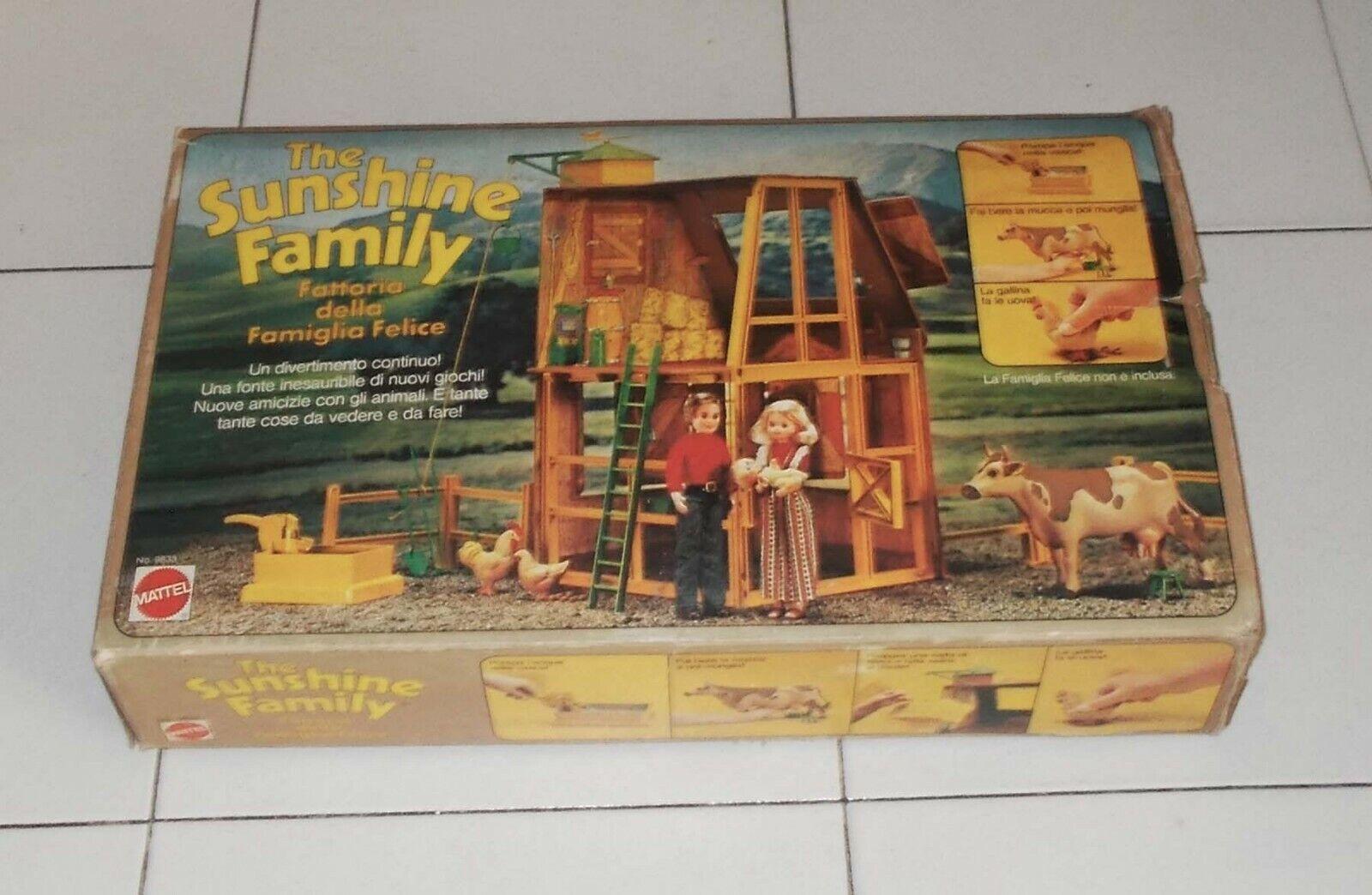 The Sunshine family FATTORIA DELLA FAMIGLIA FELICE Mattel 1976 art 9833