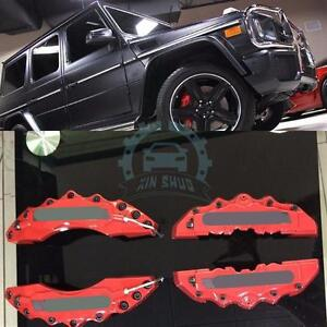 4x Auto Front Rear Brake Caliper Covers For Mercedes Benz