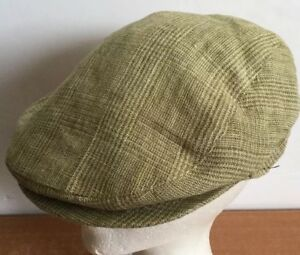 5f9b6a1fef89e Image is loading Hat-Cabbie-Country-Gentleman-Italy-Cotton-M-Cap-