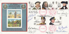 Centenaryof Force Postal Service FDC full set Maritime Hertiage stamps.Signed 10