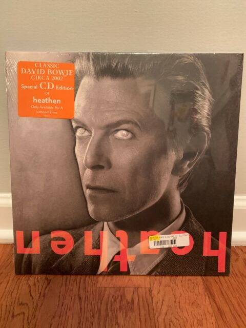 David Bowie Heathen CD album K86657-S1 COLUMBIA 2002 new & sealed special ed