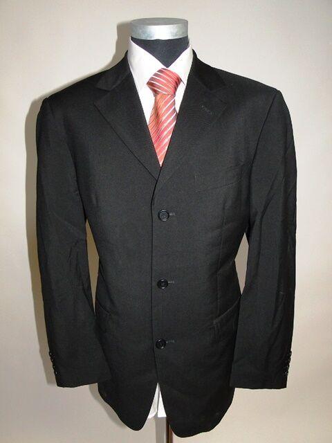 Hugo BOSS veste de sport Angelico vestons Noir uniCouleure laine vierge taille 50