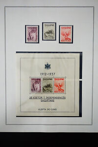 Albania-1930-039-s-to-1970-039-s-Stamp-Collection
