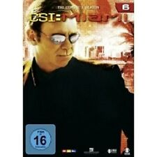 "CSI MIAMI ""SEASON 6"" 6 DVD SET TV SERIE NEU"