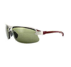 Serengeti-Gafas-de-Sol-Destare-7689-Plata-Satinada-Rojo-Phd-555NM-Verde