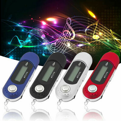 5 color USB Digital MP3 Music Player Support 32GB TF Card /& FM Radio LCD Screen
