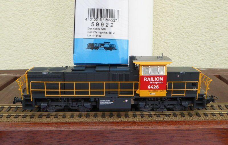 Piko 59922 Diesellok NS BR 6400 Railion DB AG Ep.5 6 DC Gleichstrom,H0,UVP