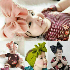 Lovely-Baby-Girls-Kids-Bunny-Rabbit-Bow-Knot-Turban-Headband-Hair-Band-Headwrap