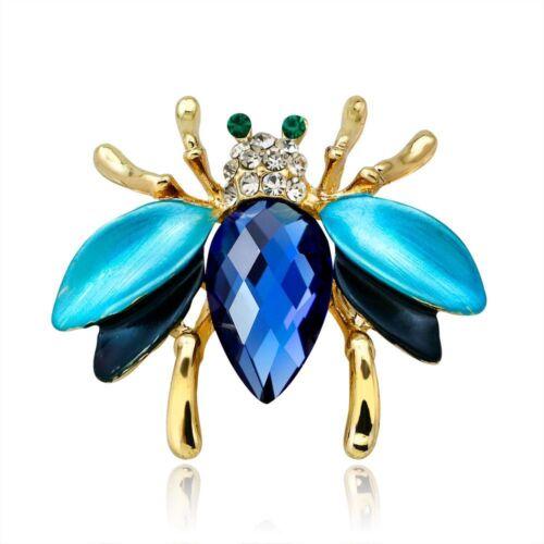 Lovely BEE INSECTE Forme Femmes Élégante Broche Cadeau Fashion Jewelry