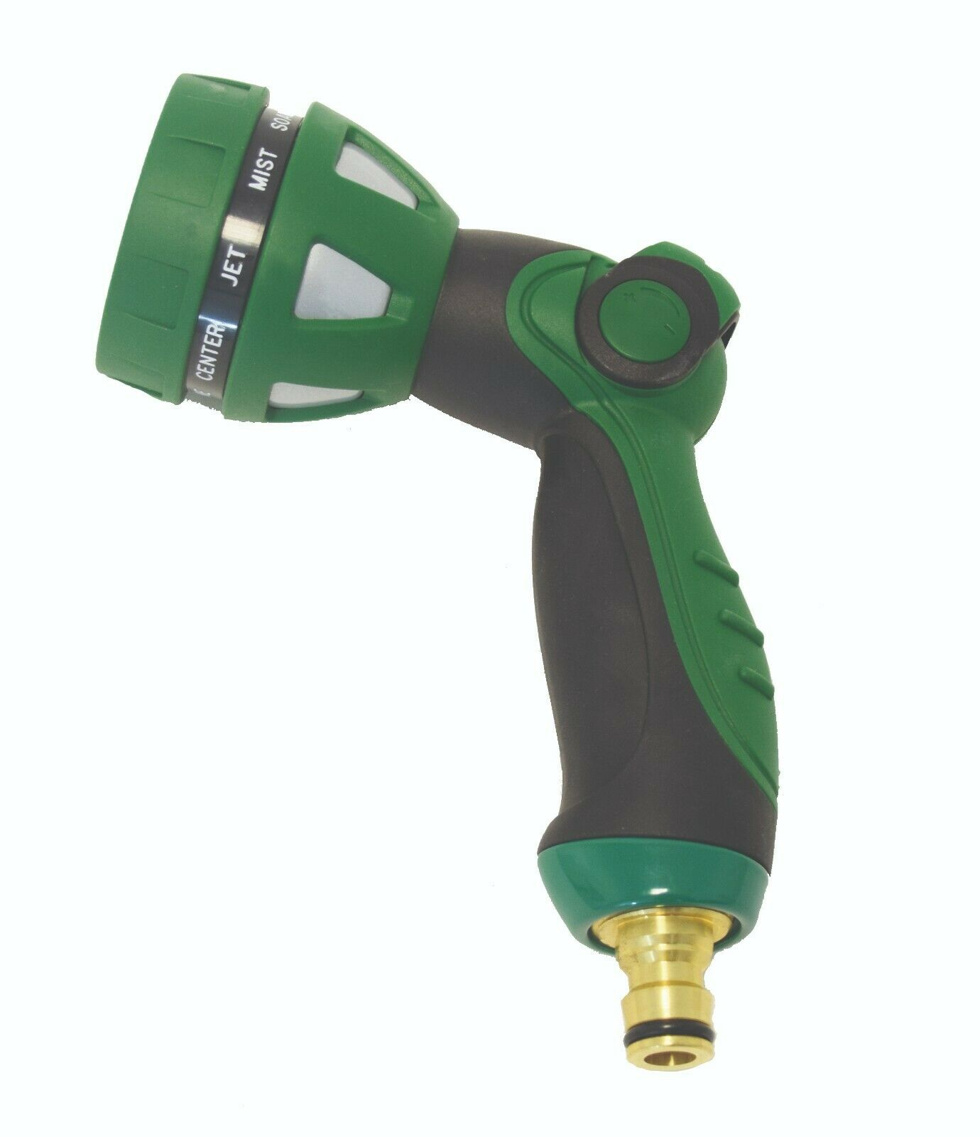 Spear & Jackson Multi Function 9 Flow Watering Spray Gun Green