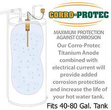 Corro-Protec  Water heater Titanium powered anode replaces Magnesium Anode rod