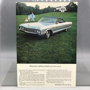 Vintage-Revue-Annonce-Imprime-Design-Publicite-Buick