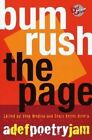 Bum Rush the Page: A Def Poetry Jam by Louis Reyes Rivera, Tony Medina (Paperback, 2002)