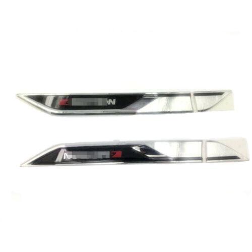 Teramont 17-19 Chrome Side Door Air Vent Fender Cover Trim Fit For VW Atlas