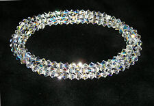 SET OF THREE Swarovski Crystal Bacelets!!! Stunning Sparkle!