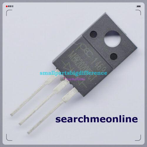 20//50//100pcs MBR20200FCT MBR20200CT TO-220 NEW Original-wholesale
