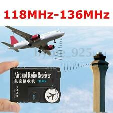 Portable 118MHz-136MHz T&L001 Air Dual Band Radio Airband Aviation Band Receiver