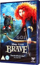 Brave Walt Disney Pixar Animated Film Childrens Movie with Merida DVD New Sealed