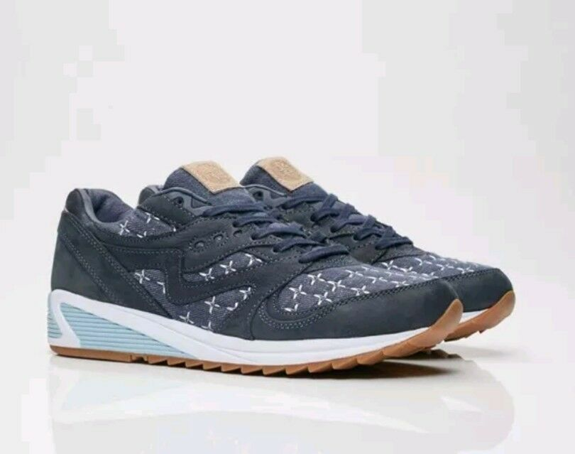 Saucony X Up There Grid 8000  Sashiko  Mens 12 NEW LIMITED RELEASE S70400-1