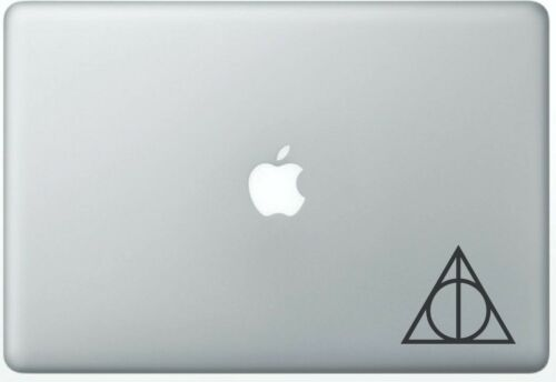 Harry Potter Deathly Hallows Sticker Decal Car Boat Bike Laptop Wall Vinyl Decal