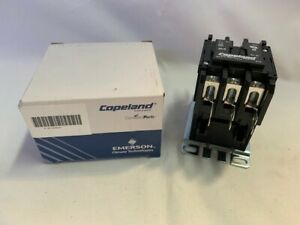 3 Pole 912-3050-01 50A 600V Copeland Definite Purpose Contactor 120V Coil