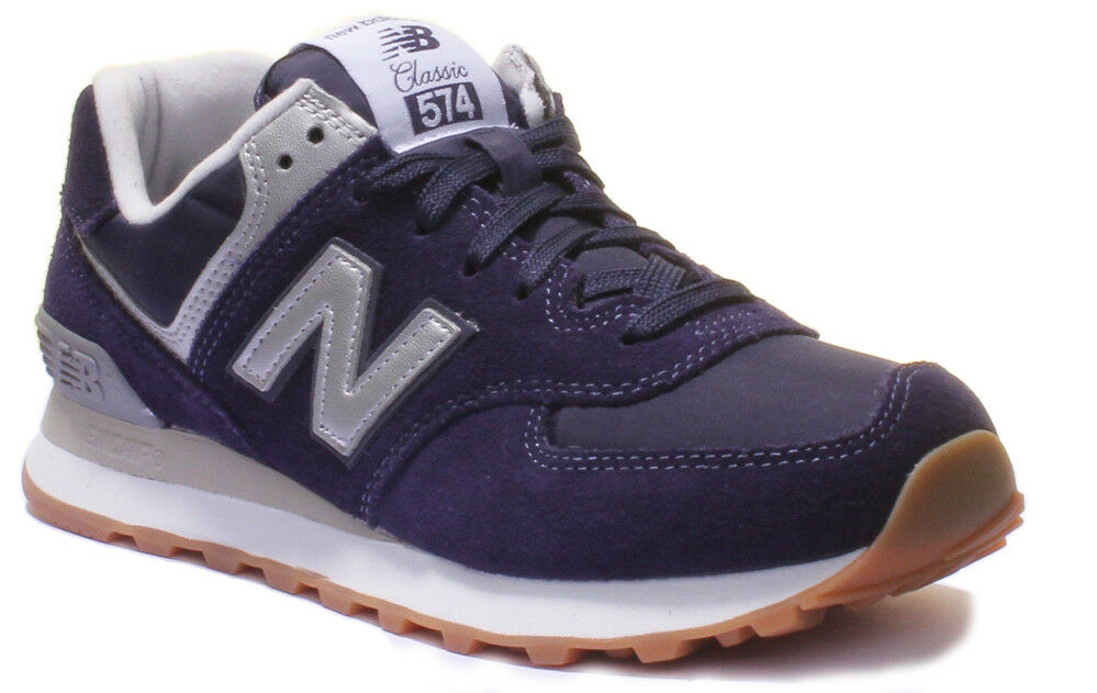 New Balance MI 574 Men Suede Leather Trainers 7 - 12