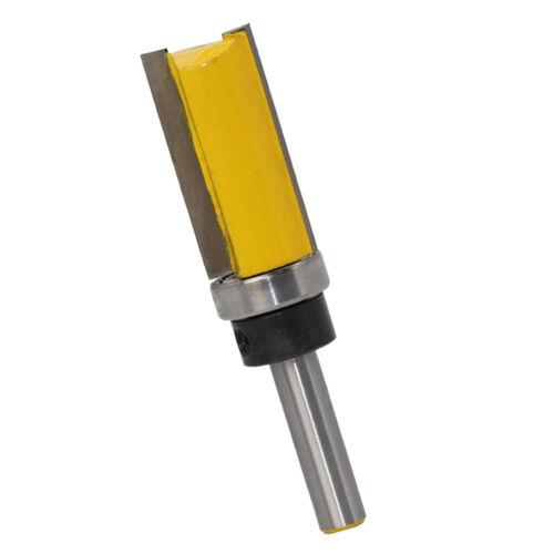 Schaftdurchmesser 8mm Bündigfräser mit Kugellager Unten Lange Lebensdauer