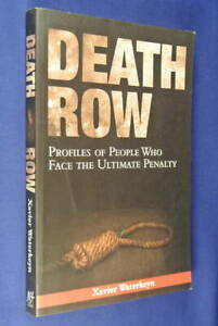 DEATH-ROW-Xavier-Waterkeyn-TRUE-CRIME-BOOK-Profiles-of-People-on-Death-Sentence