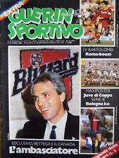 Guerin Sportivo n°14 1983  - con film del campionato - Roberto Bettega [GS43]
