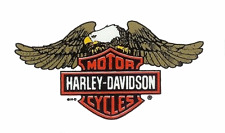 autocollant decal sticker  Harley Davidson eagle