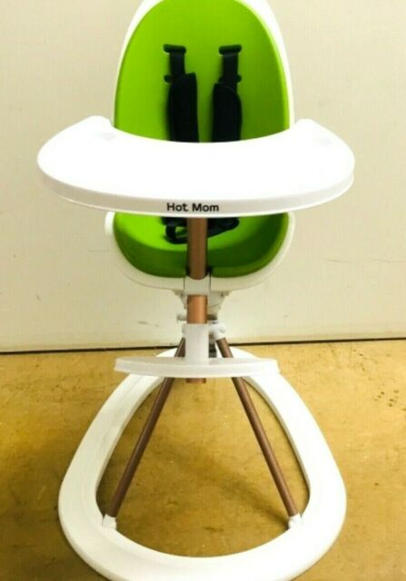 Awesome Hot Mom Tablefit High Chair With Removable Tray And Soft Insert 360 Degree Green Ncnpc Chair Design For Home Ncnpcorg